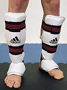 Leg Protector with Instep Guard